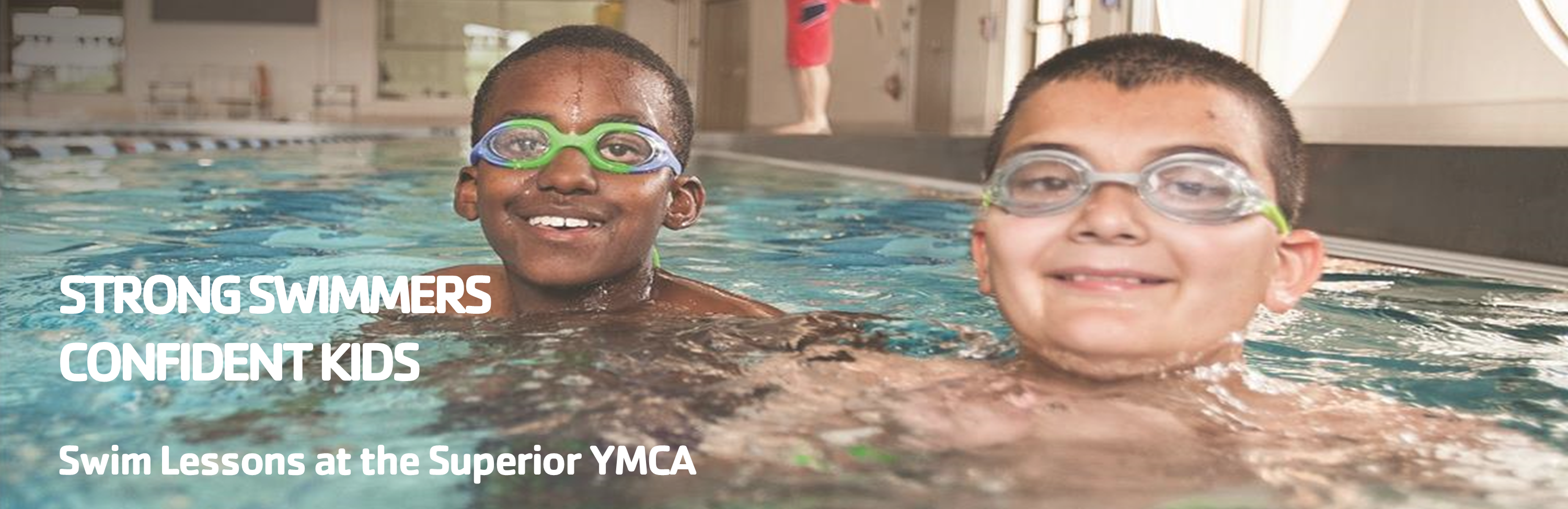 Swim lessons at the YMCA