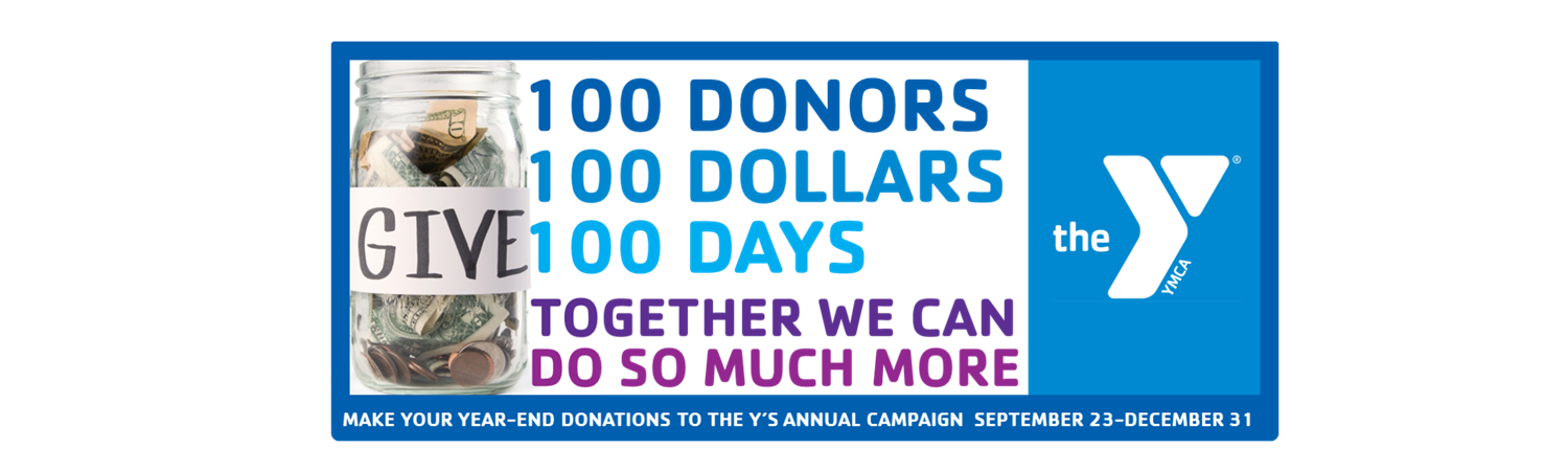 100 Donors, 100 Dollars, 100 Days